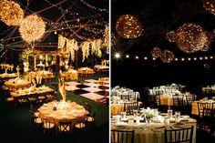 Decofilia Blog   Iluminación para bodas al aire libre