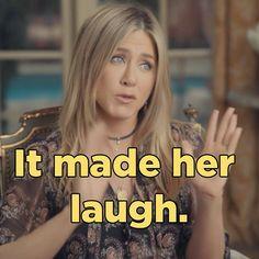 "One Of Jennifer Aniston's Most Precious Memories Is Of A ""Friends"" Fan…"