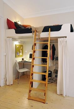 Living in a tiny apartment