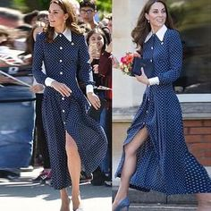 $75.99 FREE INTERNATIONAL SHIPPING Princess Kate Middleton Vintage Single-Breasted Midi Dress Modest Online Quality One Stop Hijab, Beauty, Cosmetics, Plus Size Wear for Hijabi Hijabista Kate Middleton Outfits, Princess Kate Middleton, Modest Dresses, Bridesmaid Dresses, Wedding Dresses, Islamic Clothing, Formal, Single Breasted, Clothes