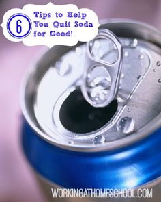 6 Tips to help quit soda. THM friendly sodas