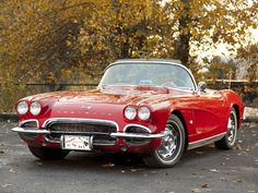 American Muscle Cars… 1962 Chevrolet Corvette C1