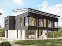 So schön kann's kommen, wenn sich Architektur und Technik zusammentun: Einerseits, um einer Familie ein modernrepräsentatives Zuhause zu schaffen, andererseits, um dieses Zuhause möglichst unabhängig vom Stromnetz und zum Kraftwerk zu machen. Ergebnis: ein Plusenergiehaus mit Stil.