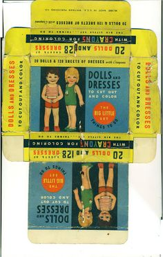 20 Dolls and Dresses the Big Little Set 1930's - Bobe Green - Picasa-Webalben