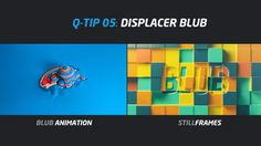 QUICK TIP 05: DISPLACER BLUB - Working at http://manvsmachine.co.uk/ I had the chance to discover a new way to create this kind of landscapes just with a plane and the displacer effect.
