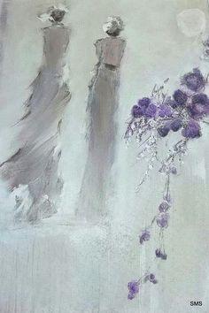 Solfrid M Skarseth  Akryl på lerret 50 × 70 Abstract Art, Abstract, Art, Painting