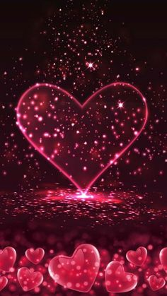 Pink Wallpaper Heart, Love Wallpaper Backgrounds, Flower Phone Wallpaper, Butterfly Wallpaper, Cellphone Wallpaper, Wallpaper Iphone Cute, Pretty Wallpapers, Cute Cartoon Wallpapers, Colorful Wallpaper