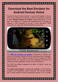 54 Best PSX Android Emulator App images in 2019   Android