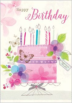 Card Ranges » 7571 » Birthday Cake - Abacus Cards - Greetings Cards, Gift Wrap & Stationery