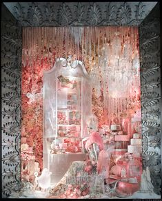 An icy Valentine's scene from our 2013 Holiday windows.