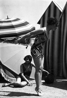 Designed by Sonia Delaunay, 1 9 2 5, Swimwear.© Getty Images