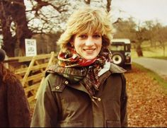 Rare photo of Princess Diana.