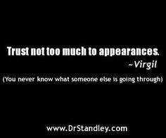 Trusting Appearances Quote