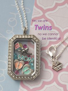 Origami Owl - #Twins I can help you create the story you want to tell. Karol Gordon, Independent Designer #12423860 karol.origamiowl.com