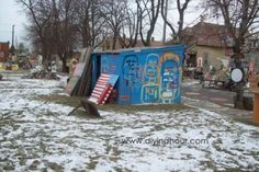 Blue Shack – Heidelberg Project