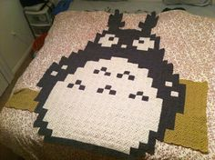 Totoro graph as quilt
