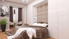Interior design of a bedroom (Blue splash project)