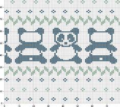 panda knitting pattern