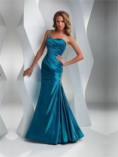 One Shoulder Mermaid Open Back Purple Or Dark Blue Or Orange With Sequins Prom Dress PD0355 http://www.simpledresses.co.uk