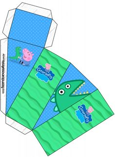 Cumple George Pig, Peppa Pig Printables, Picnic Blanket, Outdoor Blanket, Party Themes, Party Ideas, Paper Art, Beach Mat, Birthdays