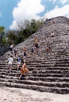 Coba -  isolated Indian ruins, miles away from civilization, are the remains of one of the largest Mayan cities.