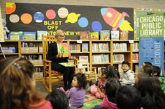 Words to Grow On: Story Time West Englewood Library Chicago, IL #Kids #Events