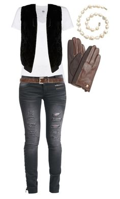 """Android 18 part 2"" by lexicona ❤ liked on Polyvore featuring Kin by John Lewis, Alice + Olivia, Rock Rebel, Diesel, Vince Camuto and anime"