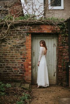Forest lace overlay Wilderness Bride  Made in England  www.wildernessbride.co.uk Info@wildernessbride.co.uk