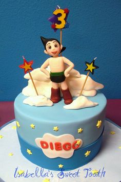 astro boy cake by Isabella's sweet tooth (johanna), via Flickr