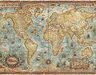 Fotobehang - Modern World Antique Map