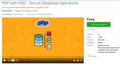 PHP with PDO : Secure Database Operations ...