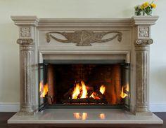 Fireplace Design, Home Decor, Decoration Home, Room Decor, Home Interior Design, Home Decoration, Interior Design