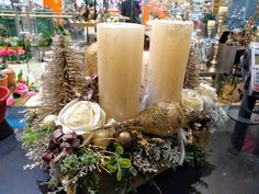 Candles, Table Decorations, Home Decor, Christmas Jewelry, Crafting, Decoration Home, Room Decor, Candy, Candle Sticks
