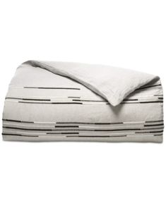 Hotel Collection Global Stripe King Duvet Cover, Created for Macy's Bedding