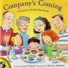 Company's Coming: A Passover Lift-the-Flap Book (Picture Puffins) by Joan Holub http://smile.amazon.com/dp/0142300624/ref=cm_sw_r_pi_dp_RTD7vb14SKZFC