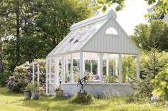 Orangery or Conservatory? Diy Greenhouse Plans, Homemade Greenhouse, Build A Greenhouse, Greenhouse Gardening, Outdoor Greenhouse, Backyard Gazebo, Greenhouse Wedding, Pergola, Amazing Gardens