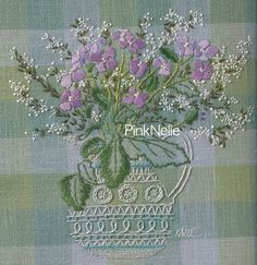 EMBROIDERY of GARDEN FLOWERS Craft Book by PinkNelie on Etsy