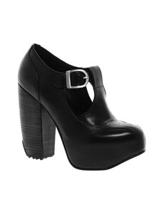 Image 1 ofMiista Alka Leather Heeled Shoe