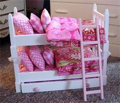 Trundle Doll Beds & Bunks