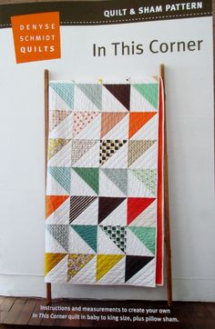 Good idea for easy scrap quilt