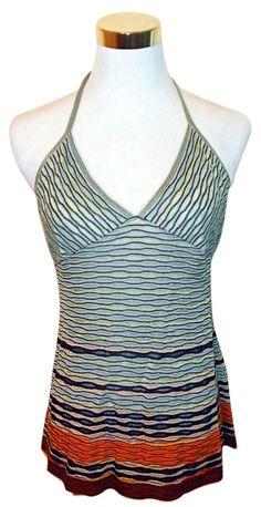M Missoni Signature Knit Halter Top sz 4 - Catch 22 Boutique