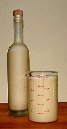 Bailey's aus dem Thermomix, ein tolles Rezept aus der Kategorie Likör. Bewertungen: 16. Durchschnitt: Ø 4,0.