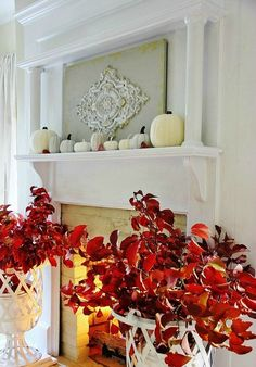 Colors for Fall Decorating: Red and Slate Grey - Lighting & Interior Design Ideas Blog - Community - LampsPlus.com - Information Center