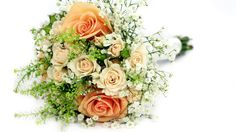 Rose  gypsophila bouquet