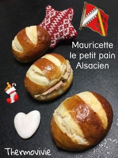 Mauricette... Mais quel drôle de nom pour ce petit pain poché hyper moelleux qui sent aussi bon qu'un bretzel! Dans tout les cas je compte bien inviter Mauricette à ma table du réveillon.. Garnie avec du foie gras, du fromage ou du saumon fumé.. Ces adorables...