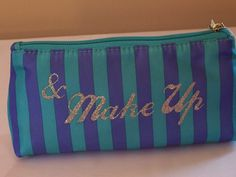 'Choice of two Make Up & Kiss Makeup Bags NEW' is going up for auction at 10am Sat, May 18 with a starting bid of $2.