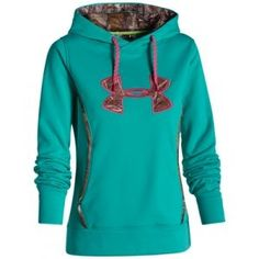 Find the Under Armour Misses' Storm Caliber Hoodie - Gazebo Green by Under Armour at Mills Fleet Farm.  Mills has low prices and great selection on all Sweatshirts.