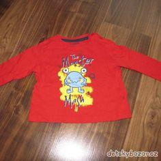 a6272d4c3f Červené tričko The Monster zn. Lupilu vel. 86 92 - Dětský bazar.