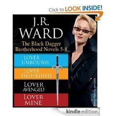 J.R. Ward The Black Dagger Brotherhood Books 5-8  Amazing!!