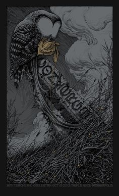 Aaron Horkey  Converge Poster